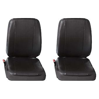 Two Single Commercial Leatherette Van Seat Covers - Ford TRANSIT 2006-2014