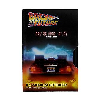 Back to the Future, A5 Notebook - VHS