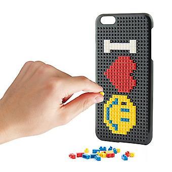 Cubierta móvil Iphone 7 Plus KSIX Play Block Negro