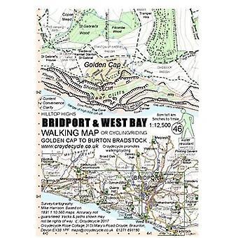 Bridport & West Bay Walking Map (46): Golden Cap to Burton Bradstock