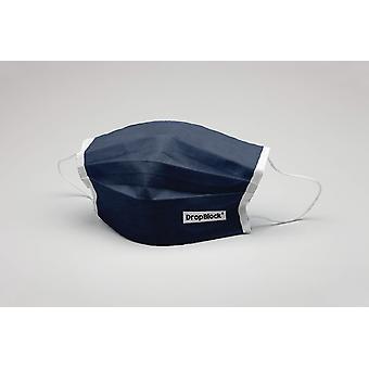 Ağız maskesi Lacivert yıkanabilir maske koruyucu maske ökotex