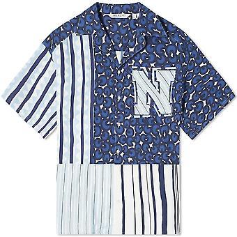 Neil Barrett Panneled Shirt