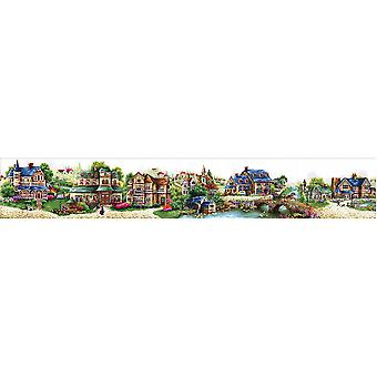 Abris Art Cross Stitch Kit - Fairytale Town