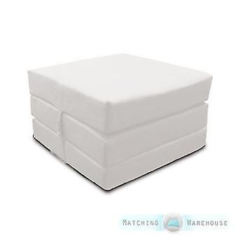 Loft 25 Zilverwaterbestendig uitklapbaar Z Bed Cube Matras met bevestiging