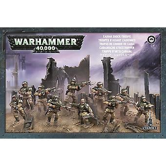 Astra Militarum Cadian Infantry Squad, 10 Citadel Minatures,Warhammer 40,000