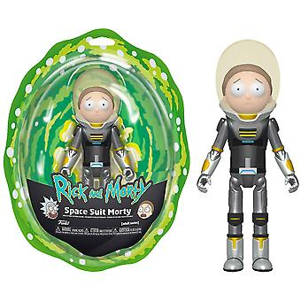 Rick and Morty Space Suit Morty Metallic Action Figure