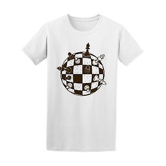 Spherical Chess Board Tee Men's -Image by Shutterstock
