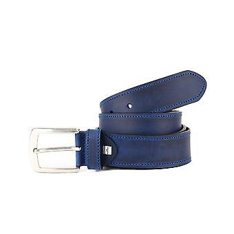 Blue Casual Men's Belt
