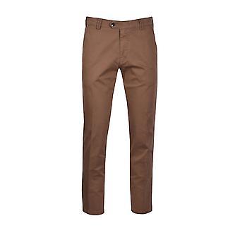 Meyer New York Cotton Trouser Light Brown