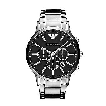 Emporio Armani AR2460 Men's Chronograph Watch - Black