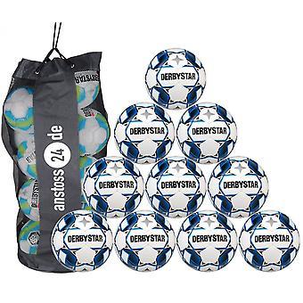 10 x DERBYSTAR Training Ball - APUS TT inkl.