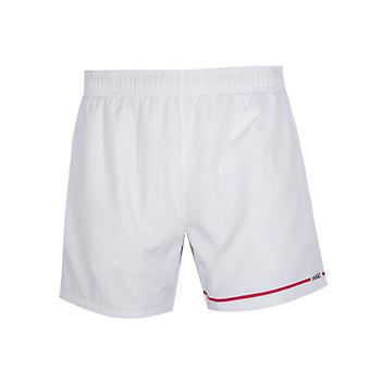 HUGO Copacobana Line Logo White Swim Shorts