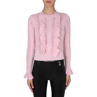 Filosofia por Lorenzo Serafini 09355704224 Women's Pink Wool Sweater