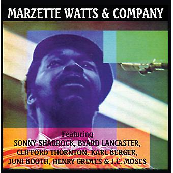 Marzette Watts - Marzette Watts & Company [CD] USA import