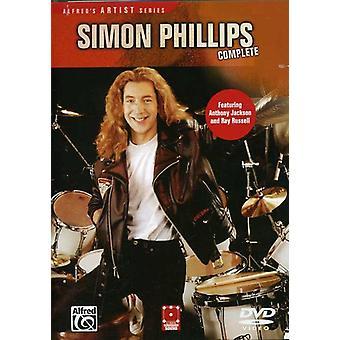 Simon Phillips - Simon Phillips: Complete [DVD] USA import