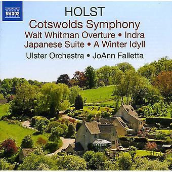 G. Holst - Holst: Importação de Cotswolds sinfonia [CD] EUA