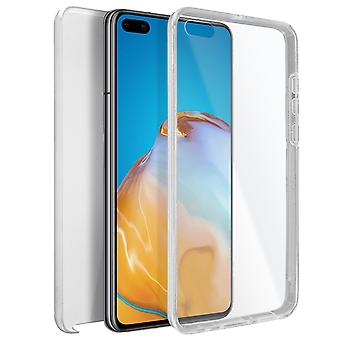 Cover Huawei P40 Hard Back Protector + Soft Front clear