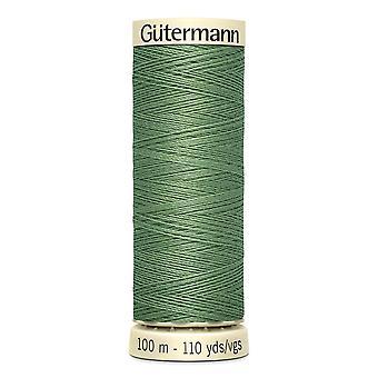 Gutermann sy-alle 100% polyestertråd 100m Hånd- og maskinfarvekode - 821