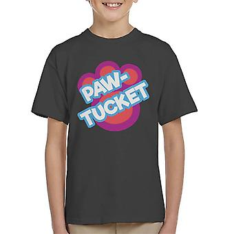 Littlest Pet Shop Paw Tucket Paw Kid's T-Shirt