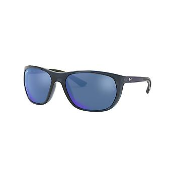 Ray-Ban RB4307 643855 Transparent Blue/Blue Mirror Blue Sunglasses