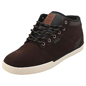 Etnies Jefferson Mtw Mens Chukka Trainers in Brown Tan