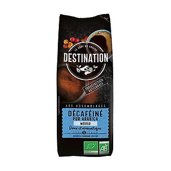 100% biologische Arabica Soft Cafeïnevrije gemalen koffie 250 g