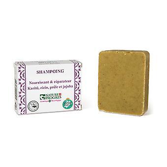 Ravitseva ja korjaus kiinteä shampoo 100 g