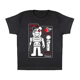 Piggy Robby Tech Specifikationer Boys T-shirt | Officiella Merchandise