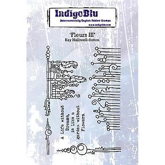 IndigoBlu Fleurs III A6
