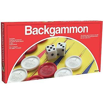 Games - Pressman Toy - Backgammon (Folding Board) New 2014-12