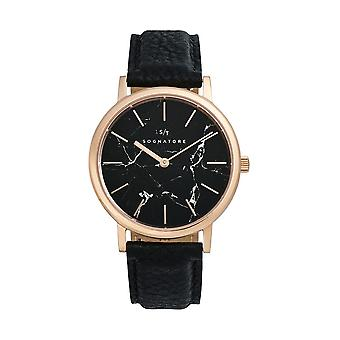 Sognatore Marble Black Rose Gold Women's Watch/Men's Watch