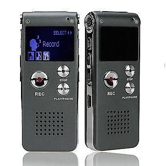 Portable Lcd Screen With 8gb Digital Voice Recorder Telephone Audio Recorder Mp3 Player Dictaphone