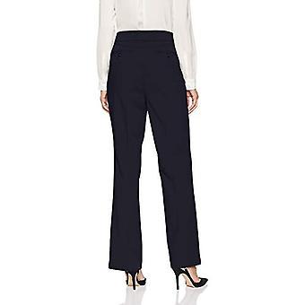 Brand - Lark & Ro Women's Bootcut Trouser Pant: Curvy Fit, Navy, 16