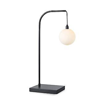 1 lichte binnentafellamp zwart, G9