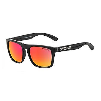 Dirty Dog Monza Polarised Sunglasses (black/red)