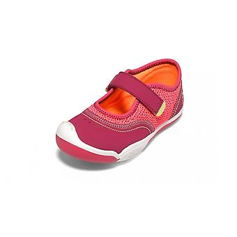 Plae emme hibiscus pink mary-jane vegan shoes