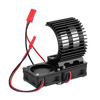 Heat Sink Cooling Fan Suitable for 1/10 540 550 Model Car Motor Radiator