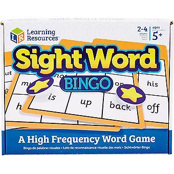 Resurse de învățare Sight Word Bingo pentru copii