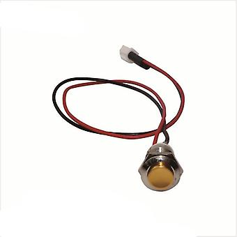 12mm Waterproof  Round Metal High Momentary Push Button/switch-automatic Reset