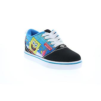 Heelys Pro 20 Prints Spongebob  Little Kids Black Canvas Lifestyle Sneakers Shoes