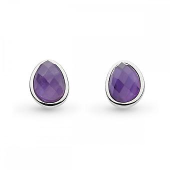 Kit Heath Coast Pebble Amethyst Stud Oorbellen 3180AM027