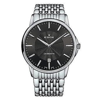 Edox Watches Les Bémonts Ultra Slim movement Unisex 56001 3M GIN