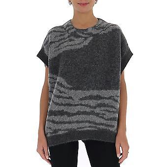 Fabiana Filippi Mad220w098c426vr2 Women's Grey Wool Sweater