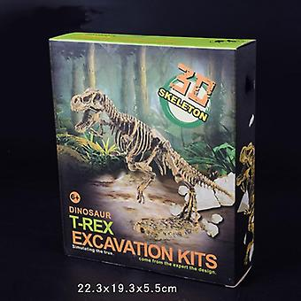 Jurassic Dinosaur Fossil Excavation Kits, Education Archeology Exquisite Toy