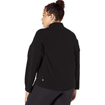Marque - Core 10 Women's (XS-3X) Cloud Soft Yoga Fleece Mock Dolman Swe...