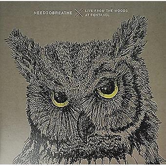 Needtobreathe - Live päässä Woods (2LP vinyyli W/Bonus C [vinyyli] USA tuonti