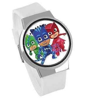 Waterproof Luminous LED Digital Touch Children watch  - PJ Masks #22