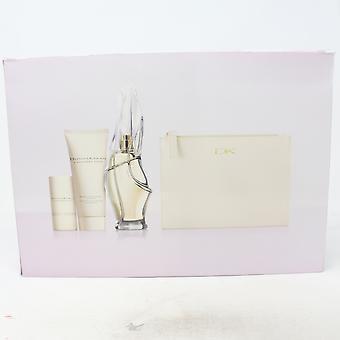 Donna Karan Kashmir Sumu 3-kpl setti korukotelo / uusi laatikko
