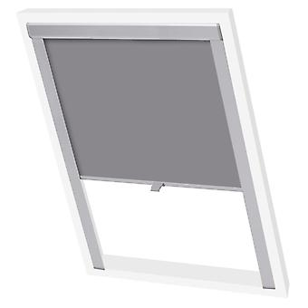 Blackout roller blind Grey U08/808