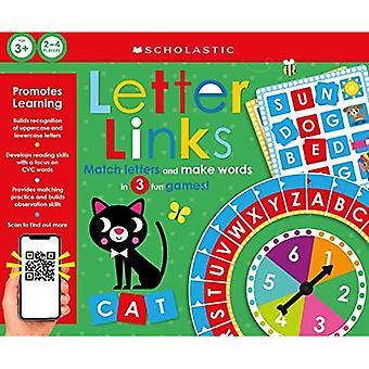 Letter Links: Scholastische Early Learners (Learning Game) (Scholastische Vroege Leerlingen)